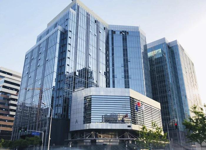 Immeuble de bureaux mobiles de Shanghai